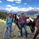 7d Ranch - riders on the range.